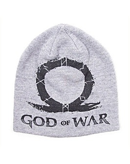 GOD OF WAR Logo Cuffless Beanie