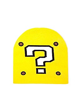 Super Mario Bros Question Mark Beanie