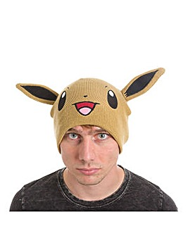 POKEMON Eevee Face & Ears Beanie