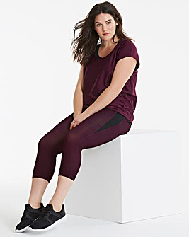 Panel Sports Capri Legging
