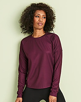 Sports Gathered Waist Top