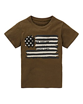 Boys USA Flag T-Shirt