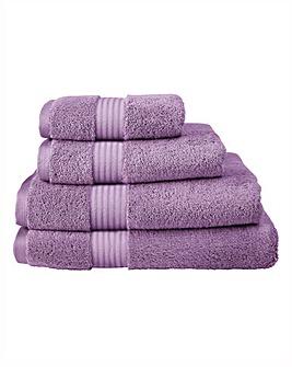 Pima Luxury Towel Range - Mulberry