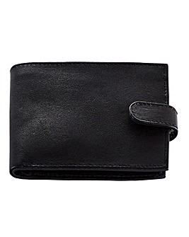 Leather Message Wallet DMY