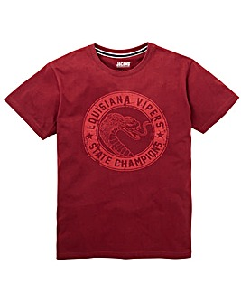 Jacamo Viper Graphic T-Shirt Long