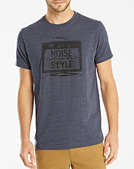 Jacamo Amps Graphic T-Shirt Long