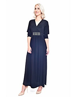 Grace maxi dress with embellishment