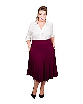 Scarlett & Jo Panelled Jersey Skirt