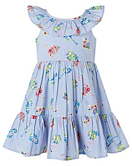 Monsoon Baby Finella Flamingo Dress