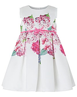 Monsoon Baby Heidi Hydrangea Print Dress