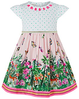 Monsoon Baby Mischa Jungle 2 In 1 Dress