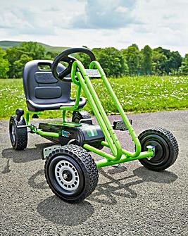 Lightning Go Kart Race Green