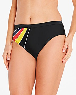 Beach to Beach Sporty Bikini Brief