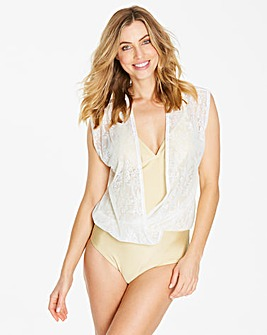 Simply Yours Crochet Blouson Swimsuit