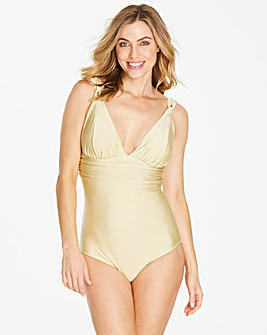 Simply Yours Drape Detail Swimsuit
