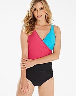 Beach to Beach Colour Wrap Swimsuit