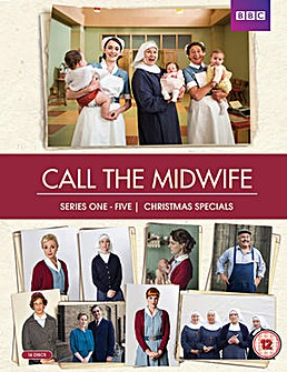 Call The Midwife Series 1 to 5