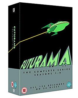 Futurama Seasons 1 to 8