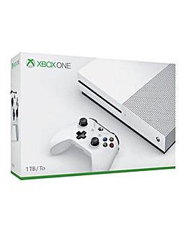 Xbox One S 1TB White Console