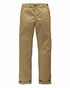 Boys Chino Trousers Generous Fit