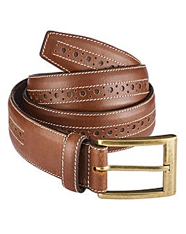 Williams & Brown Brogue Belt