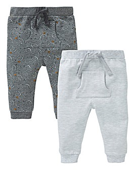 Baby Boy Pack of Two Joggers