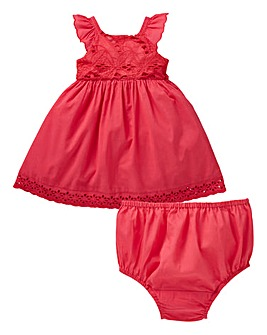 Baby Girl Dress and Knicker Set