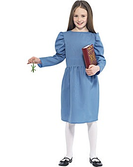 Roald Dahl - Matilda Costume + Free Gift