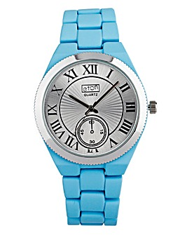 Eton Ladies Silicone Coloured StrapWatch