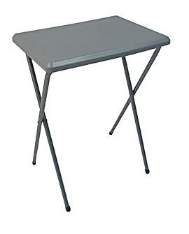 Fleetwood high plastic table in grey