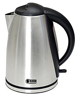 1.8L Low wattage polished silver kettle