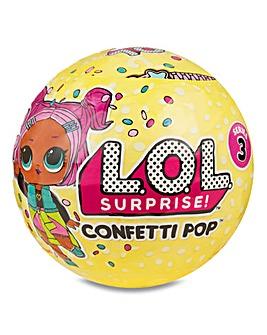 L.O.L Surprise Confetti Pop 2 Pack