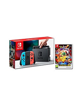Nintendo Switch Neon  Pokken DX