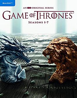 Game Of Thrones Season 1 to 7 Bluray