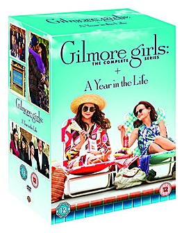 Gilmore Girls Seasons 1 to 8 DVD