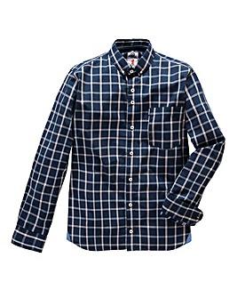 Lambretta Shadow Multi Check Shirt Long