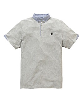 Voi Dillen Grey Marl Polo Regular
