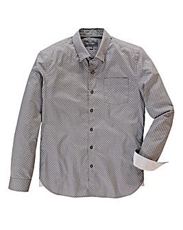 Peter Werth Polka Dot Grey Shirt