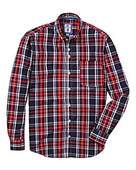 Lambretta Lumber Charcoal Shirt Long