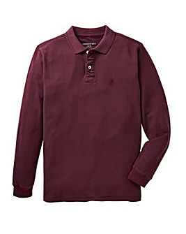 Capsule Plum Embroidered Polo Long
