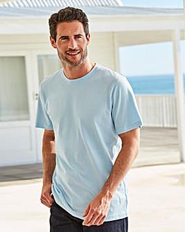 Capsule Crew Neck Blue T-shirt Regular