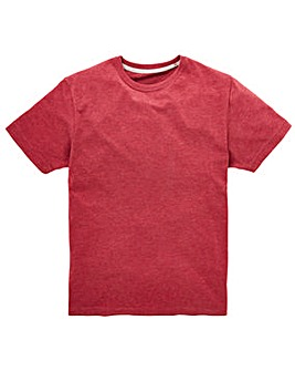 Capsule Crew Neck Red T-shirt Regular