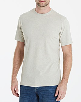 Capsule Crew Neck Oatmeal T-shirt Long