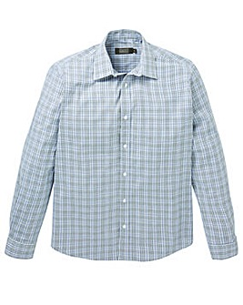 W&B London Check L/S Formal Shirt L