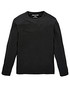 Capusle Black Long Sleeve T-shirt R