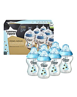 Tommee Tippee 6 x Blue Bottles