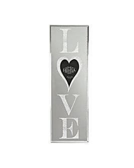 Love Glitter Mirror Photo Frame