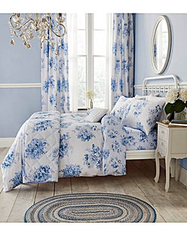 CL Canterbury Floral Curtains