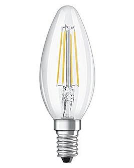 40W Filament LED GLass Candle SES Bulb