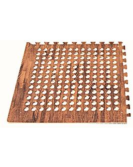 Leisurewize EVA Flooring - Dark Wood